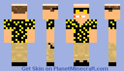 Hunter S. thompson Fear and loathing in Las Vegas Minecraft Skin
