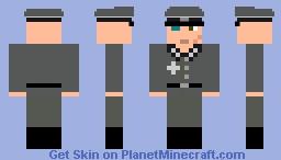 Fearless Leader (My Halloween costume) Minecraft Skin