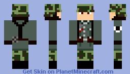 Heer Soldat 1945 Minecraft Skin