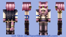 Tribrigade Felidgette the Fruitless Flower Minecraft Skin