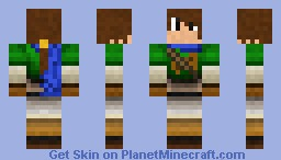 Felix (Golden Sun) Minecraft Skin