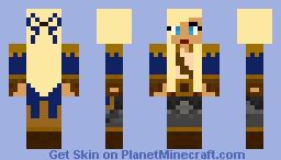 Female Pirate Minecraft Skin