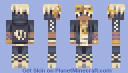 Guzma! Chabilulu Remake Minecraft Skin