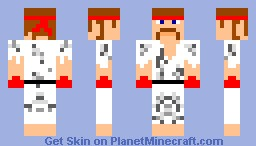 Karate Dude Minecraft Skin