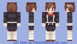 [[Random gameseries lol]] Persona 3 FeMC Minecraft Skin