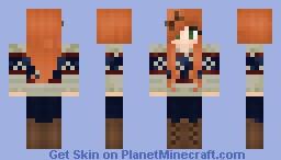 Cute Sweater Girl :3 Minecraft Skin