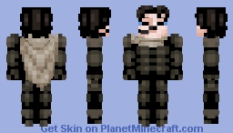 Paul Atreides / Maud'Dib from DUNE Minecraft Skin