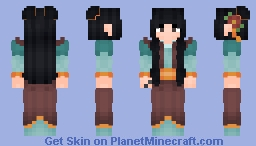 Maizhi's Adventure Outfit Minecraft Skin