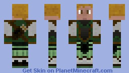 Final Fantasy Clavat GRN Minecraft Skin