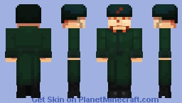 Guarding Peace and Socialism! Minecraft Skin