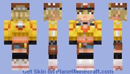 Cindy Aurum (Final Fantasy XV) Exclusive for Minecraft Bedrock Edition Minecraft Skin