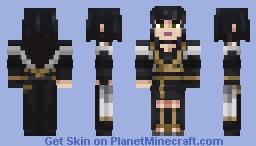 Gentiana (Final Fantasy XV) Exclusive for Minecraft Bedrock Edition Minecraft Skin