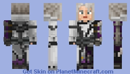 Ravus Nox Fleuret (Final Fantasy XV) Exclusive for Minecraft Bedrock Edition Minecraft Skin