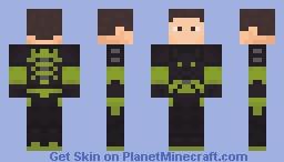 B1BU: Barracuda Minecraft Skin