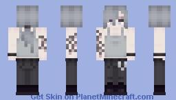 [oc] mercy Minecraft Skin