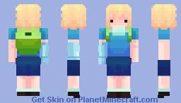 Hero of Ooo (FinnTheHuman) ... Again Minecraft Skin