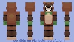 Finn the Ferret (FNaF OC) Minecraft Skin