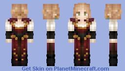 Fiorella du Vicieux   Massivecraft Minecraft Skin