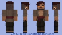 FELRAN THE FIRBOLG Minecraft Skin