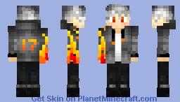 fire boy 2.0 Minecraft Skin