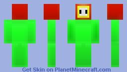 Fire Flower (Mario) Minecraft Skin