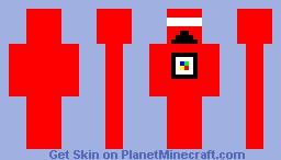 FIRE TROUPER Minecraft Skin