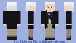 The 1st Doctor Minecraft Skin