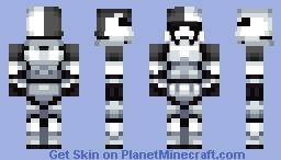 Star Wars: First Order Stormtrooper Executioner Minecraft Skin