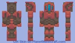 8bit recon bot Minecraft Skin