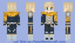 Fish and Chips - Food Fantasy Minecraft Skin