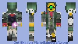 Fl4k boderlands 3 Minecraft Skin