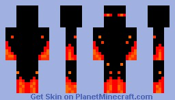 Flaming Enderman!