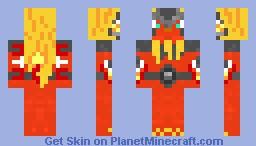 Flaremon! (IN-Progess) Minecraft Skin
