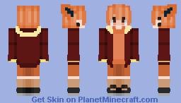 Flareon - Pokemon (Human Male ver) Minecraft Skin