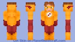 Kid Flash | Bart Allen Minecraft Skin