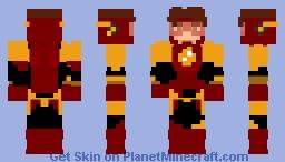 Flash (Bart Allen) Minecraft Skin