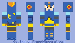 Flash Man Minecraft Skin