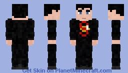 Subject 1 - Superman - Flashpoint Comic Minecraft Skin