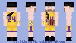 The Coach Leakers with gucci bag Minecraft Skin