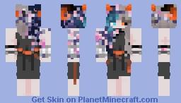 Flower/vines? Minecraft Skin