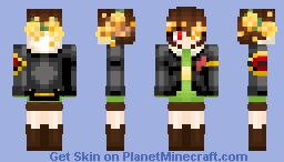 Flowerfell Chara 5 Minecraft Skin