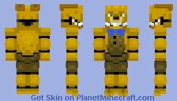 FNAF 4 SpringBonnie Minecraft Skin
