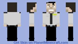 PinkyPills Dave Miller Minecraft Skin