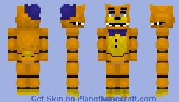 PinkyPills Fredbear Minecraft Skin