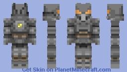 Enclave Power Armor Minecraft Skin