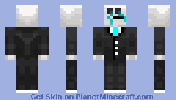Forever Alone Skin In A Suit Minecraft Skin