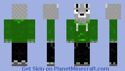 Mouse with A Hoodie Minecraft Skin