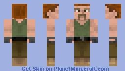Sgt Abraham (TWD) Minecraft Skin