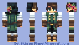 Forest Gathering Minecraft Skin