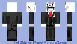 forever alone (3D parts) Minecraft Skin